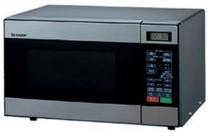 Sharp R 299 Microwave Oven Stainless Steel 220v Not For Usa Voltage