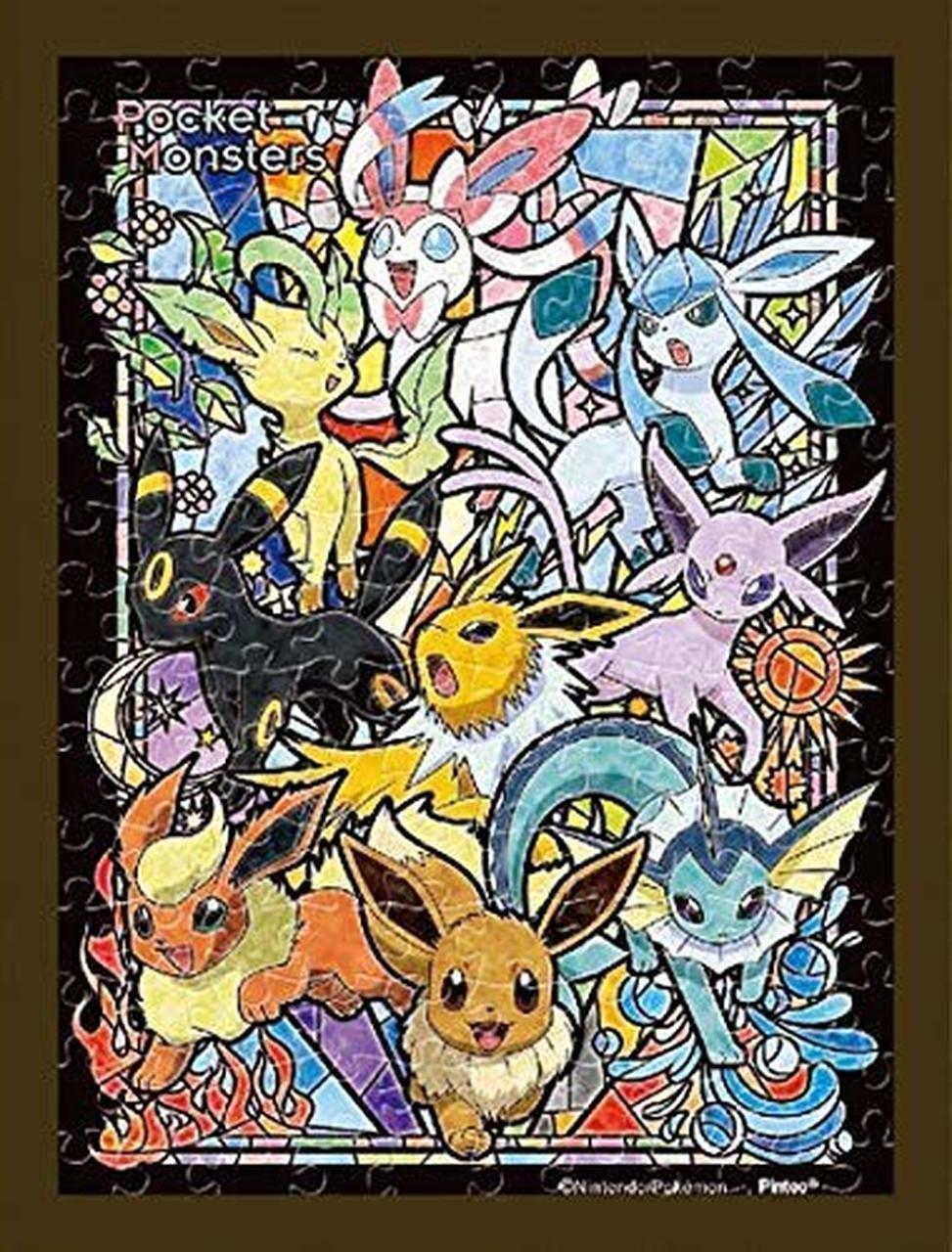 Ensky jigsaw puzzle ma40 pokemon eevee evolutions 150 s
