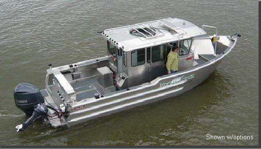 Aluminium boats cabin cruiser v28wa buy cabin cruiser for Fishing boat brands