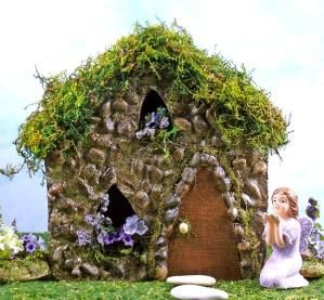 fairy garden house from Enchanted Gardens by beauterfulboy