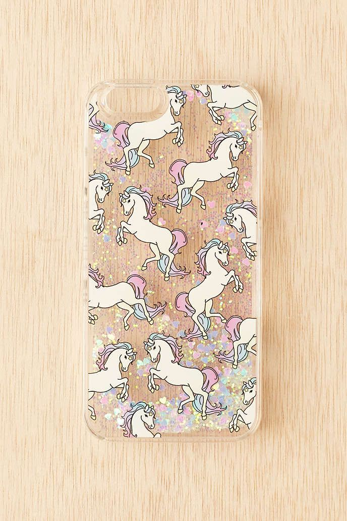 Skinnydip Pony Glitter Iphone 66s Case Iphone Cases Pinterest