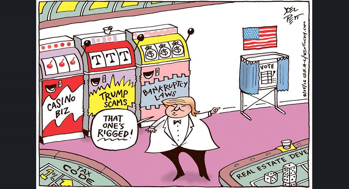 Joel Pett - Lexington Herald Leader and Cartoonist Group