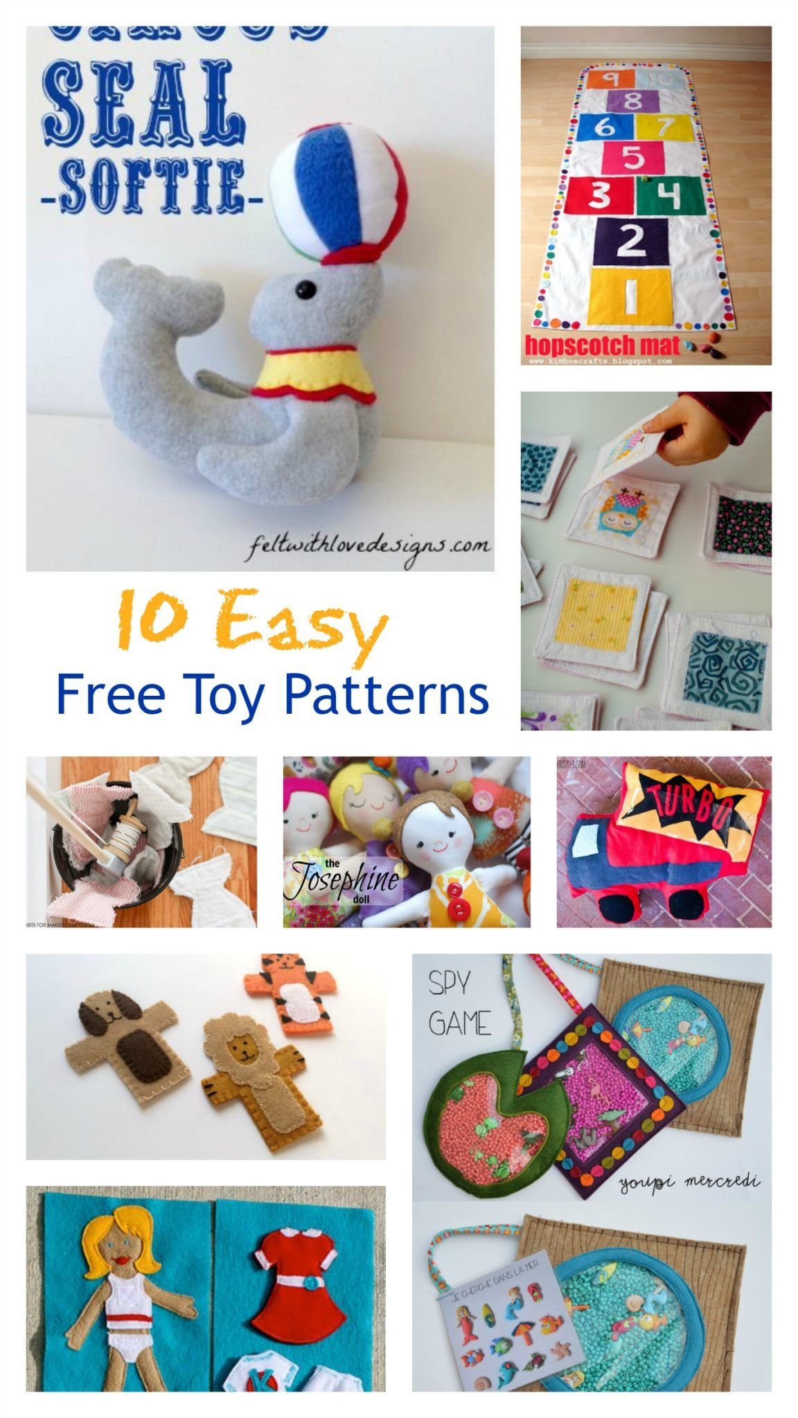 10 easy winter projects for kids on the cutting floor printable toys sewing cute and easy free sewing patterns for kid sewing projects ideal for jeuxipadfo Gallery