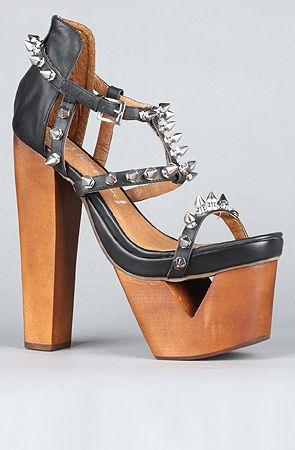 4bc89523b752 Jeffrey Campbell The Dominique Shoe in Black