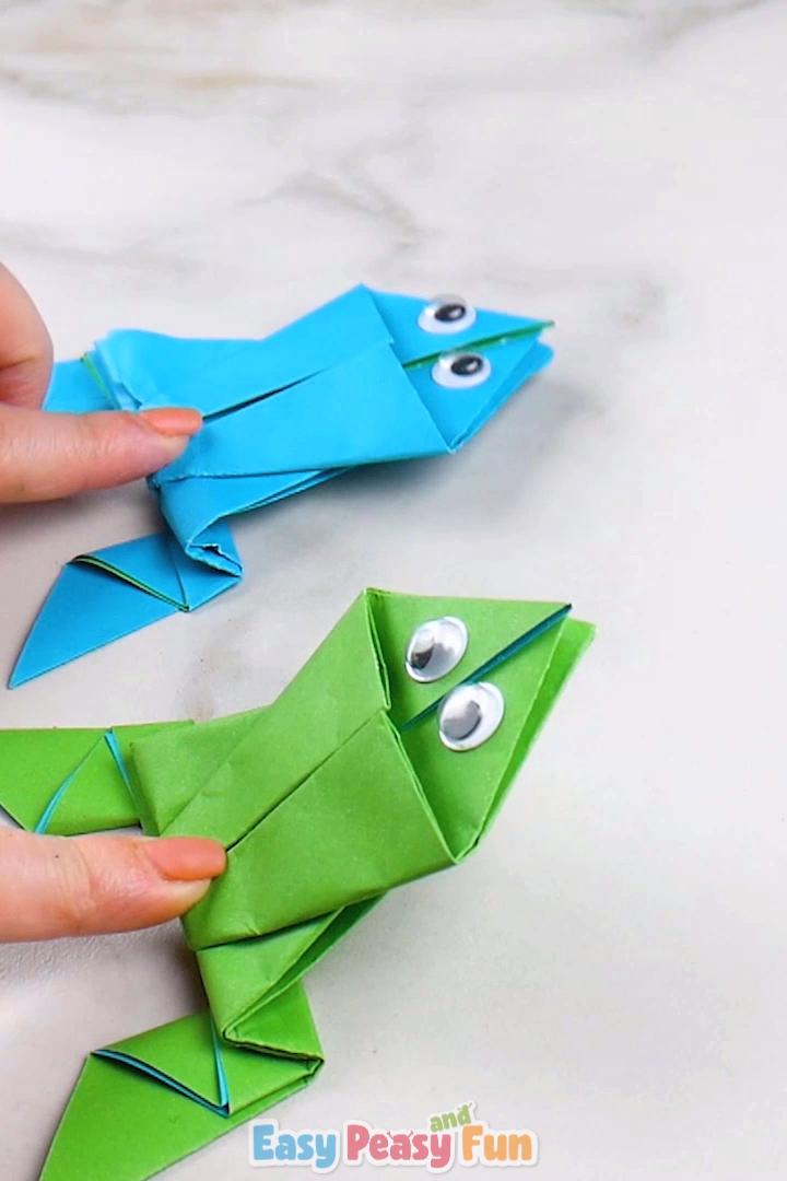 Origami Frogs Tutorial