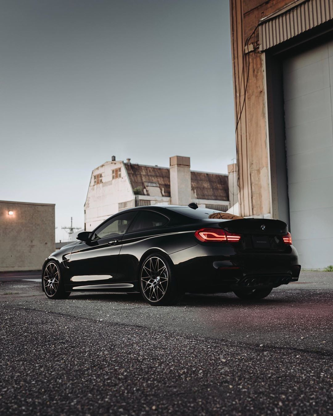 The Black Of The Night The Bmw M4 Coupe With Competition Package
