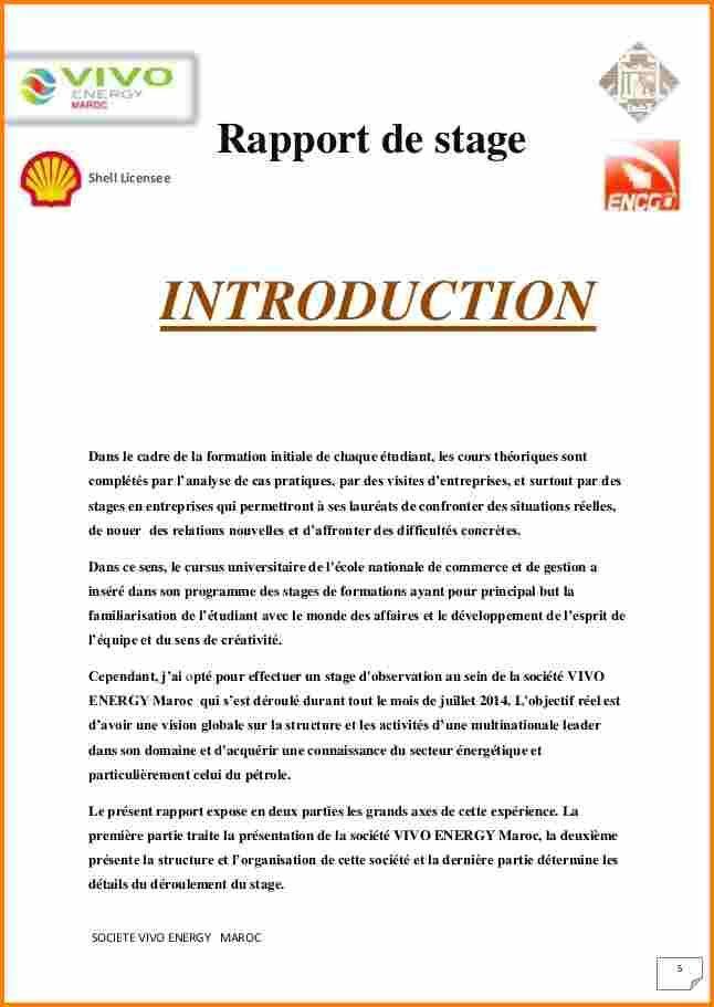 Resultat De Recherche D Images Pour Introduction Du Rapport De Stage Rapport De Stage Stage Stephen King