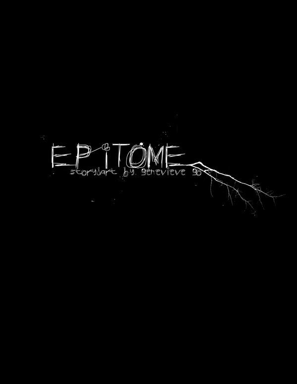 Epitome - cover. Photoshop.