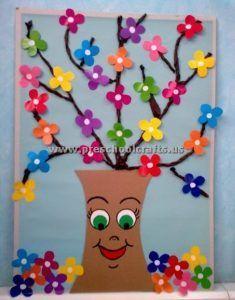 spring craft ideas for kids preschool and kindergarten basteln fr hling kindergarten