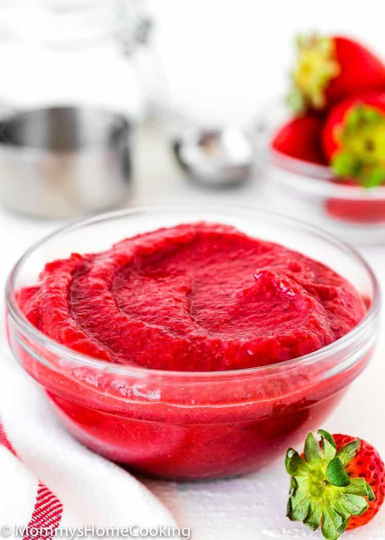 How to make strawberry puree recipe strawberry puree
