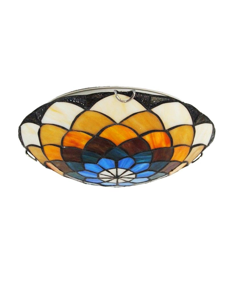 Traditional tiffany ceilling lamp is charming for each housing it it is not just a light under the ceiling but it is a highlight spot of our whole home this gorgeous flush mount aloadofball Image collections