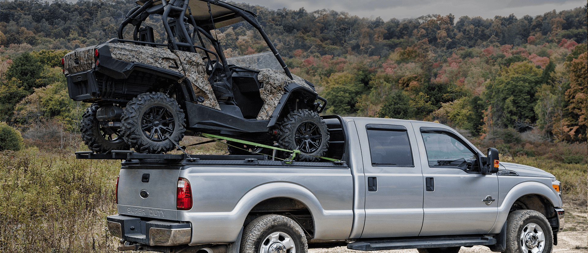 utv carrier with sxs at trailhead Atv, Carriers, Suv