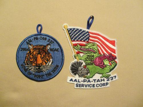 Florida Boy Scout OA aal PA Tah Lodge 237 R3 EX2004 4 Two Pocket Dangles | eBay