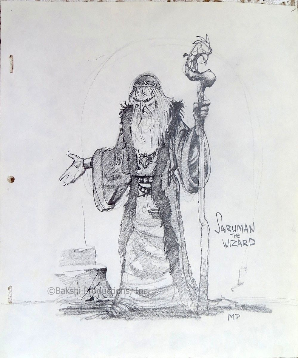 Lord Of The Rings Nazgul Concept Art By Mike Ploog: Lord Of The Rings: Original Mike Ploog Character Concepts