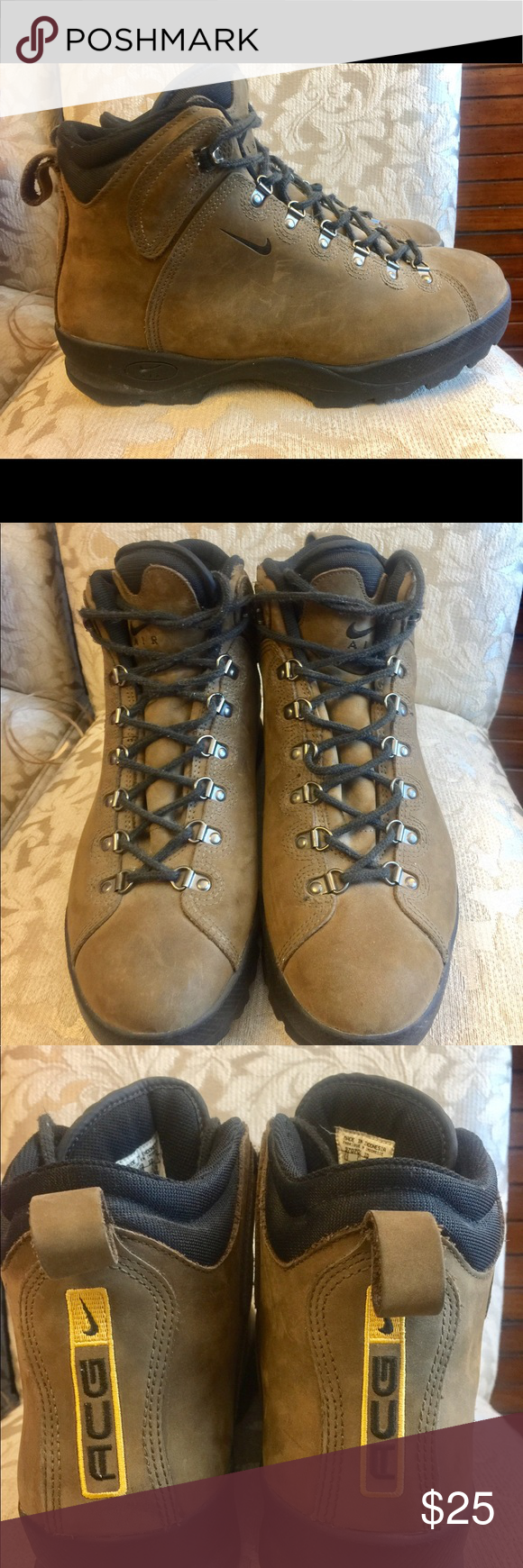 Nike AIR ACG Vintage Hiking Boot | Boots, Mens hiking boots ...