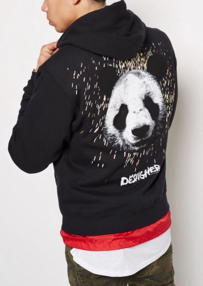 0ec8f905990c Desiigner Panda New English Tour Merch Longsleeve Hoodie Sz L | Clothing,  Shoes & Accessories, Men's Clothing, Athletic Apparel | eBay!