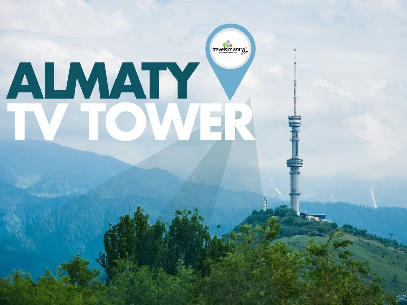 Almaty television tower is located on the high slopes of kok-tobe mountain in #Almaty. It is 371.5 meters high and 1000 meters above sea level.  The structure of the tower is in Steel tubular which makes it different from other towers built by the architects Terziev, Savchenko, Akimov and Ostroumov.