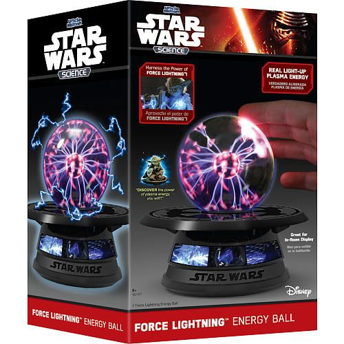 """Harness the power of Force lightning! Touch the energy ball and see pulses of plasma energy stream directly towards you. Great for in-room display.<br><br>Toys'R'Us is Destination: Star Wars - Your Source for The Force! We've got the hottest Star Wars toys including action figures, collectibles, electronics & more <a href=""""http://www.toysrus.com/category/index.jsp?categoryId=57486306&sr=1&origkw=star%20wars""""<b>here</b></a>!"""