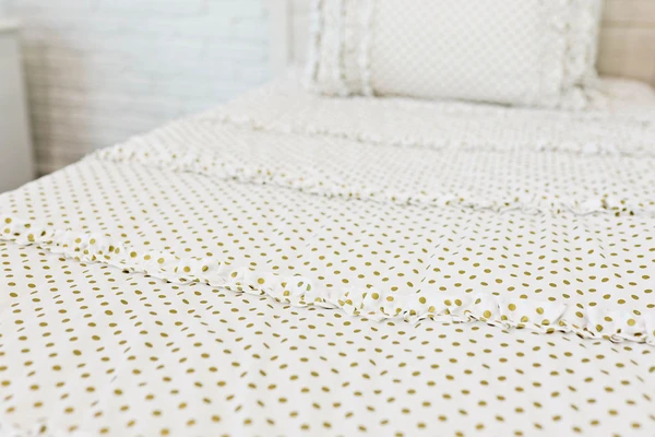 Goldie Dots (Minky) - For Bunk Beds