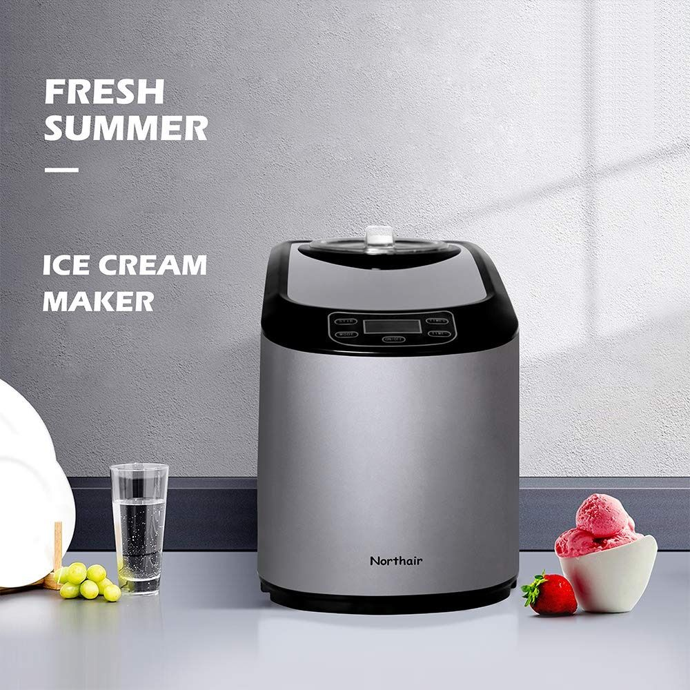 Today Review Northair Ice Cream Maker With Compression Cooling