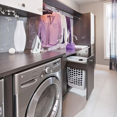 un mod le d 39 organisation dans la salle de lavage salle. Black Bedroom Furniture Sets. Home Design Ideas