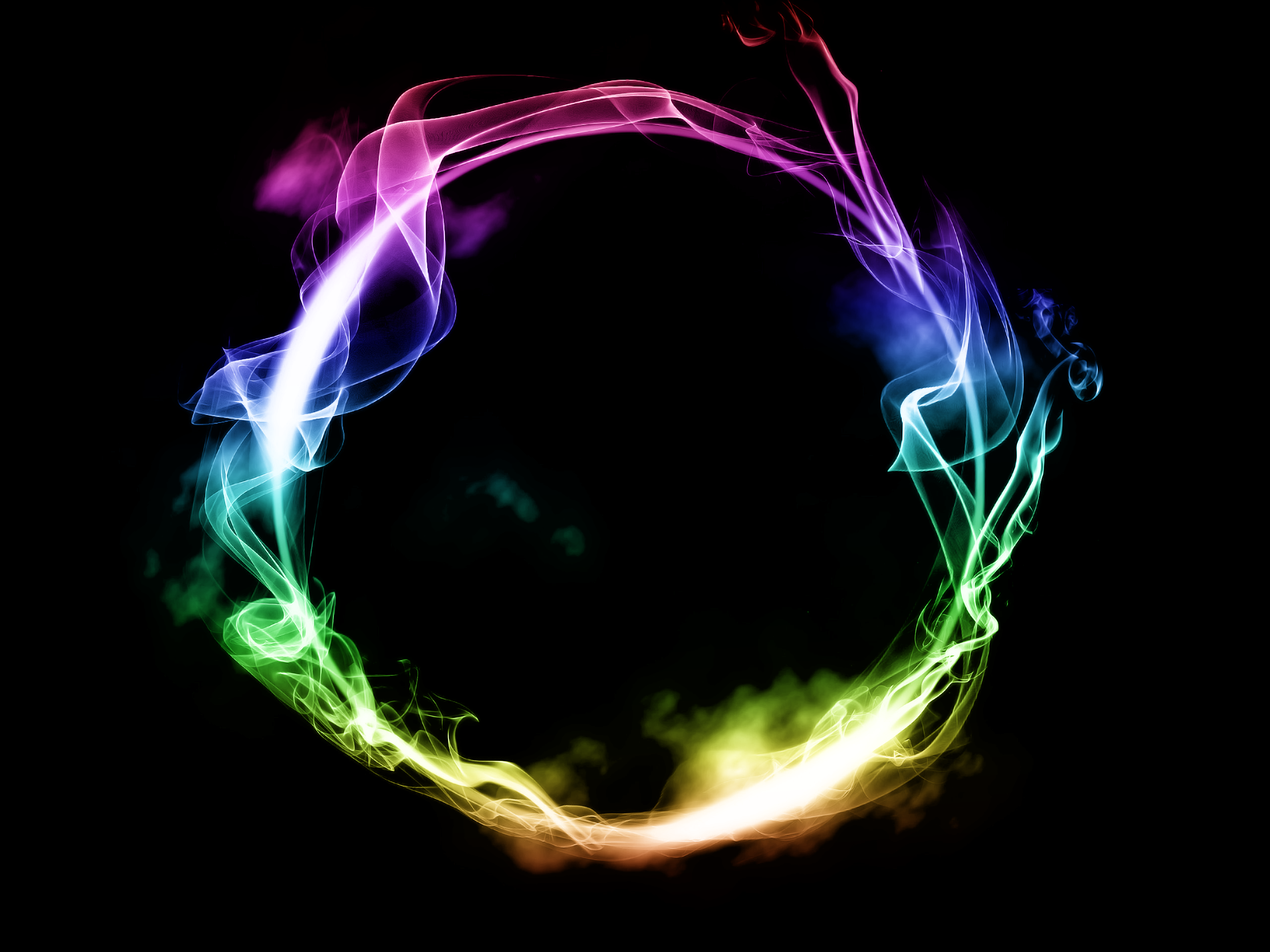 Rainbow Ring Of Smoke Smoke Wallpaper Mobile Legend Wallpaper Red And Black Background