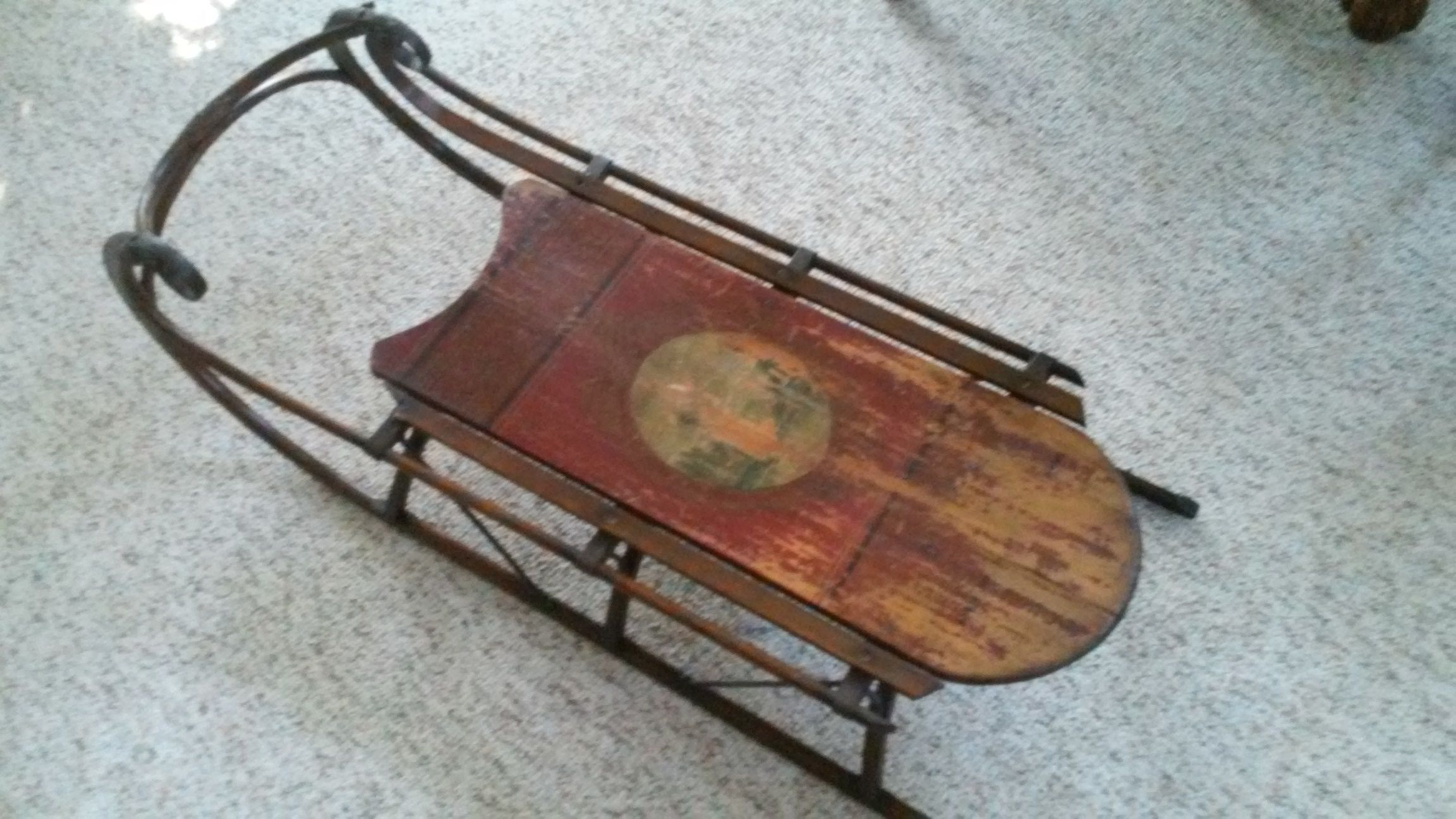 Antique Sleds Value Antique Childs Sled Antique Appraisal