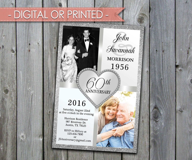 Wedding Anniversary Invitation, Wedding Anniversary Invite