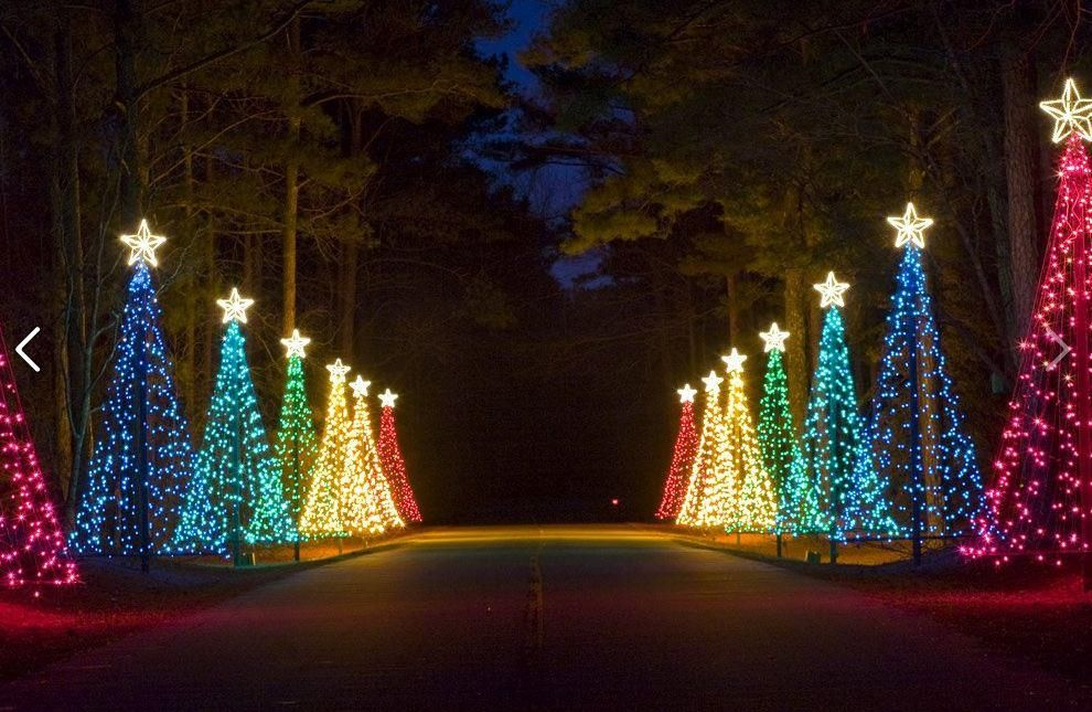 Blogs Georgia Christmas Christmas Lights Callaway Gardens