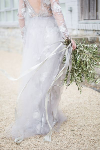 Dove Grey Wedding Dresses For Brides That Want To Something Elegant And Diffe Possibly A Bride In Her 40s Or Beyond Stylemepretty Weddingdress