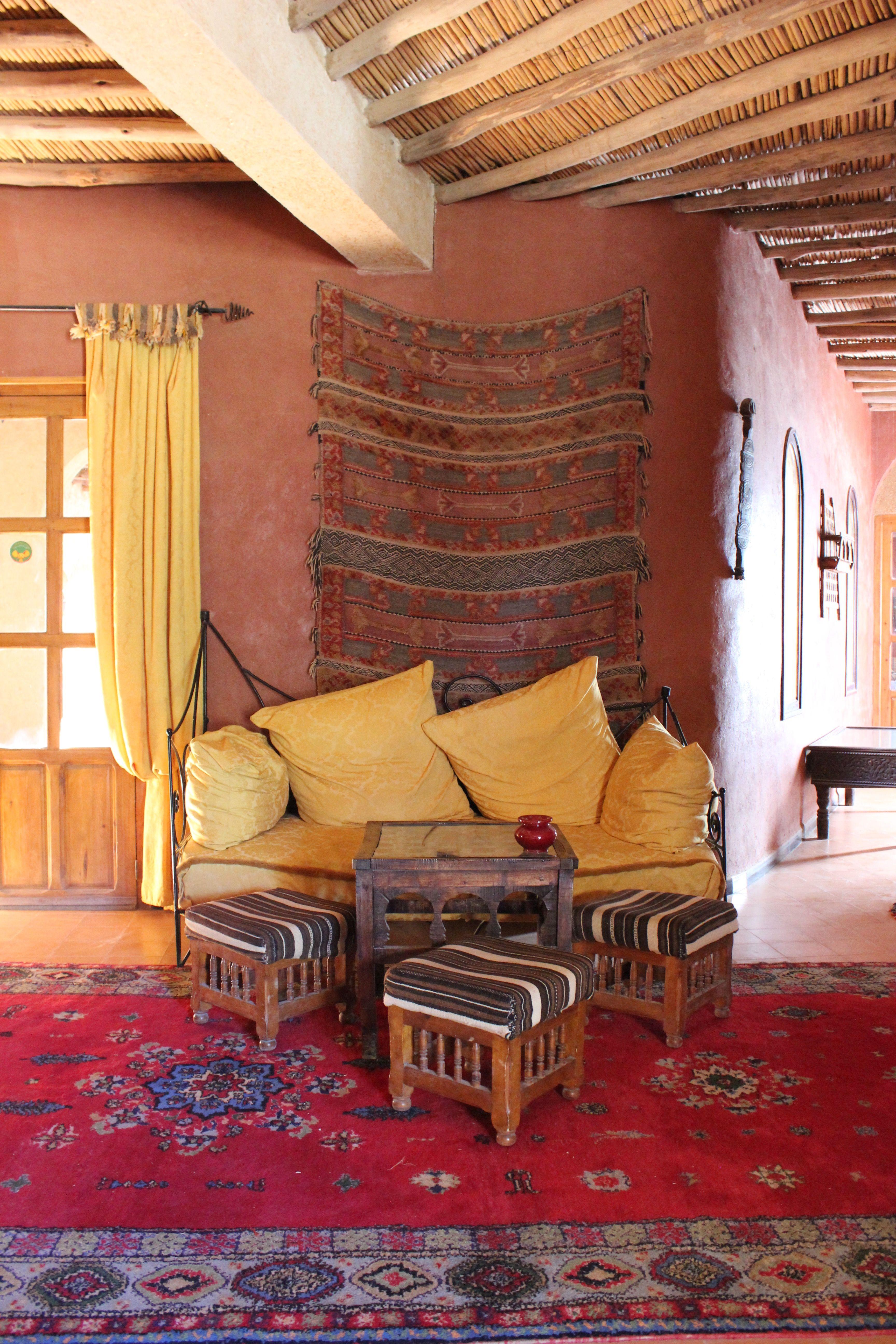 Interior design at ksar sania merzouga morocco from morocco