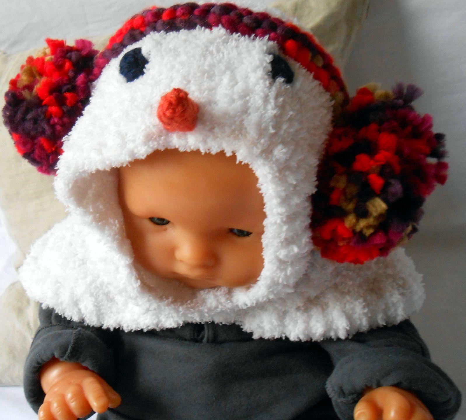 d62eb0f381b4 Cagoule bébé 0-3 mois décor