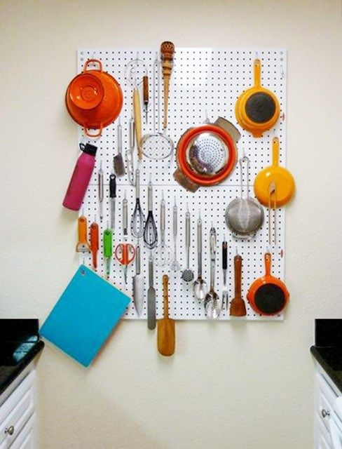 Diy Pegboard Hooks Diy Pegboard Tool Storage Diy Pegboard Garage Diy Pegboard Tool Holder Diy P Pegboard Kitchen Peg Board Craft Storage Ideas For Small Spaces