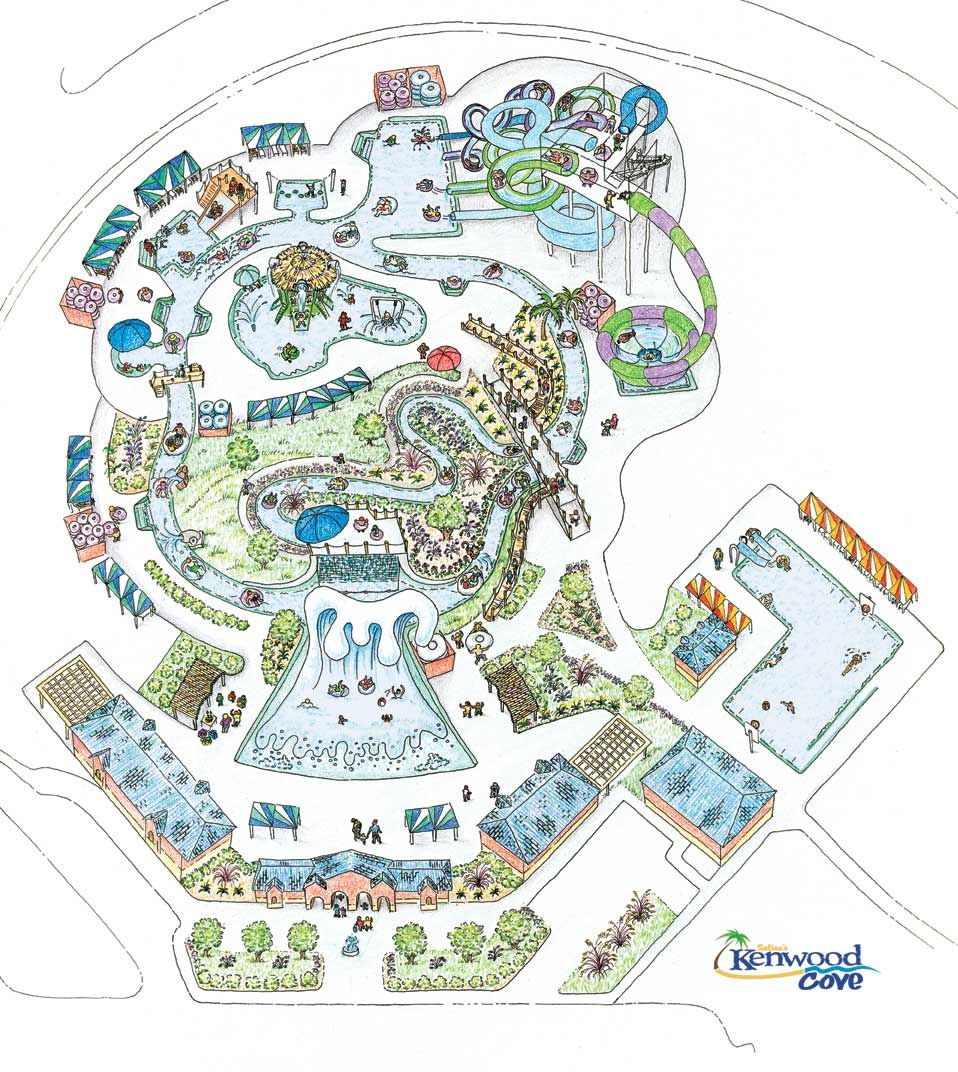 Kenwood Cove Waterpark Map wwwvisitsalinaorg Salina Attractions