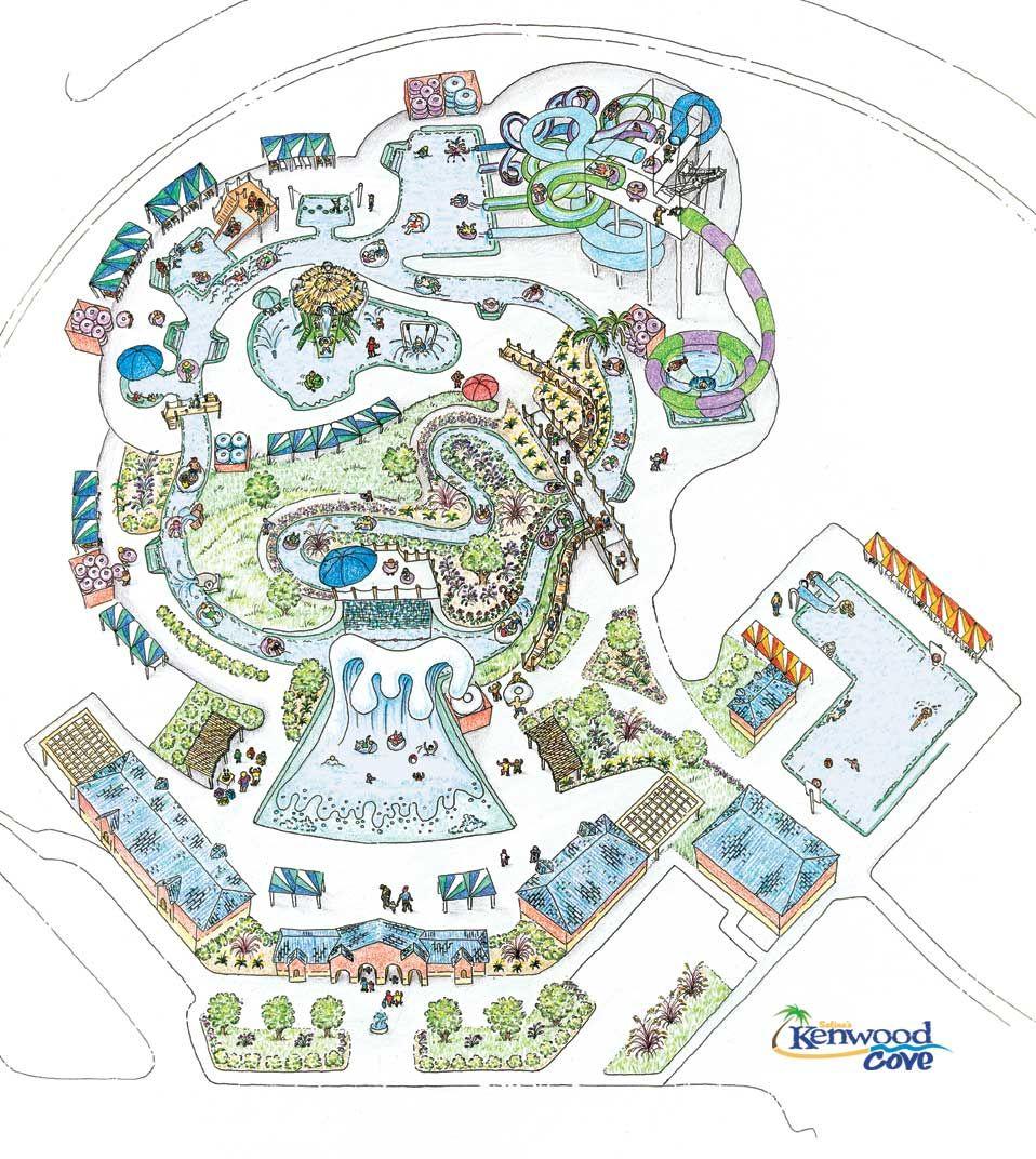 Kenwood Cove Waterpark Salina KS Oklahoma Trip Pinterest - Salinas ks us map
