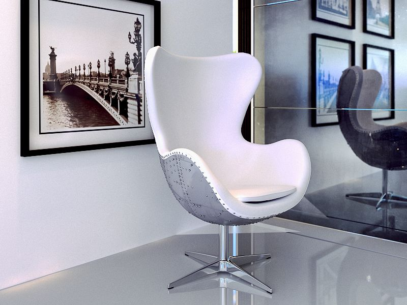 Aviator Lounge Chair By Modani Furniture