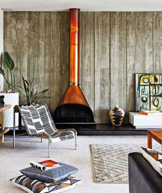 Vintage Fireplace Majestic Malm Preway Retro 60u0027s 70u0027s