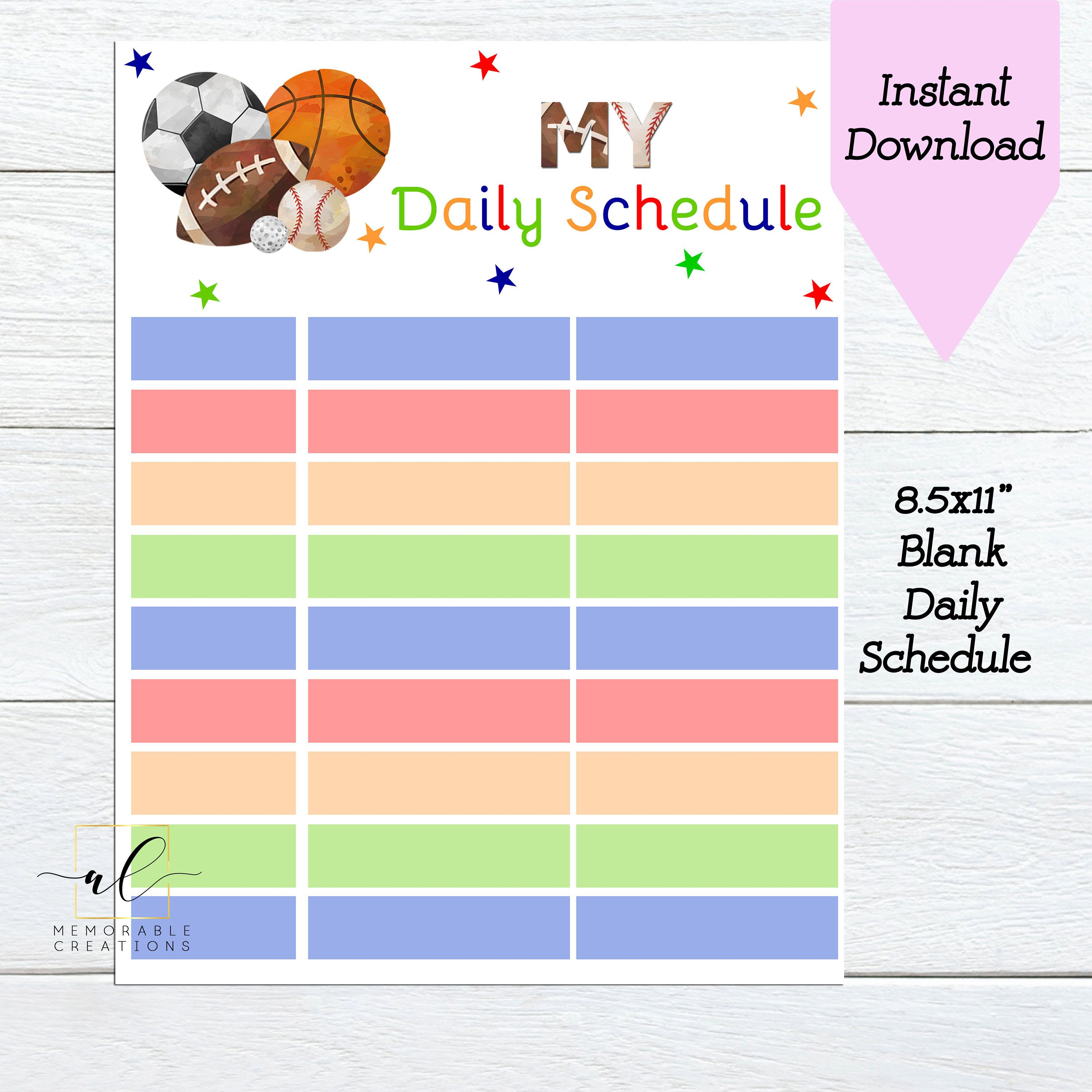 Pin On Daily Planner