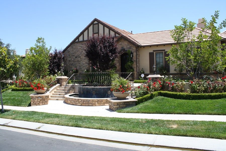 Front Yard Hill Landscaping Ideas Network