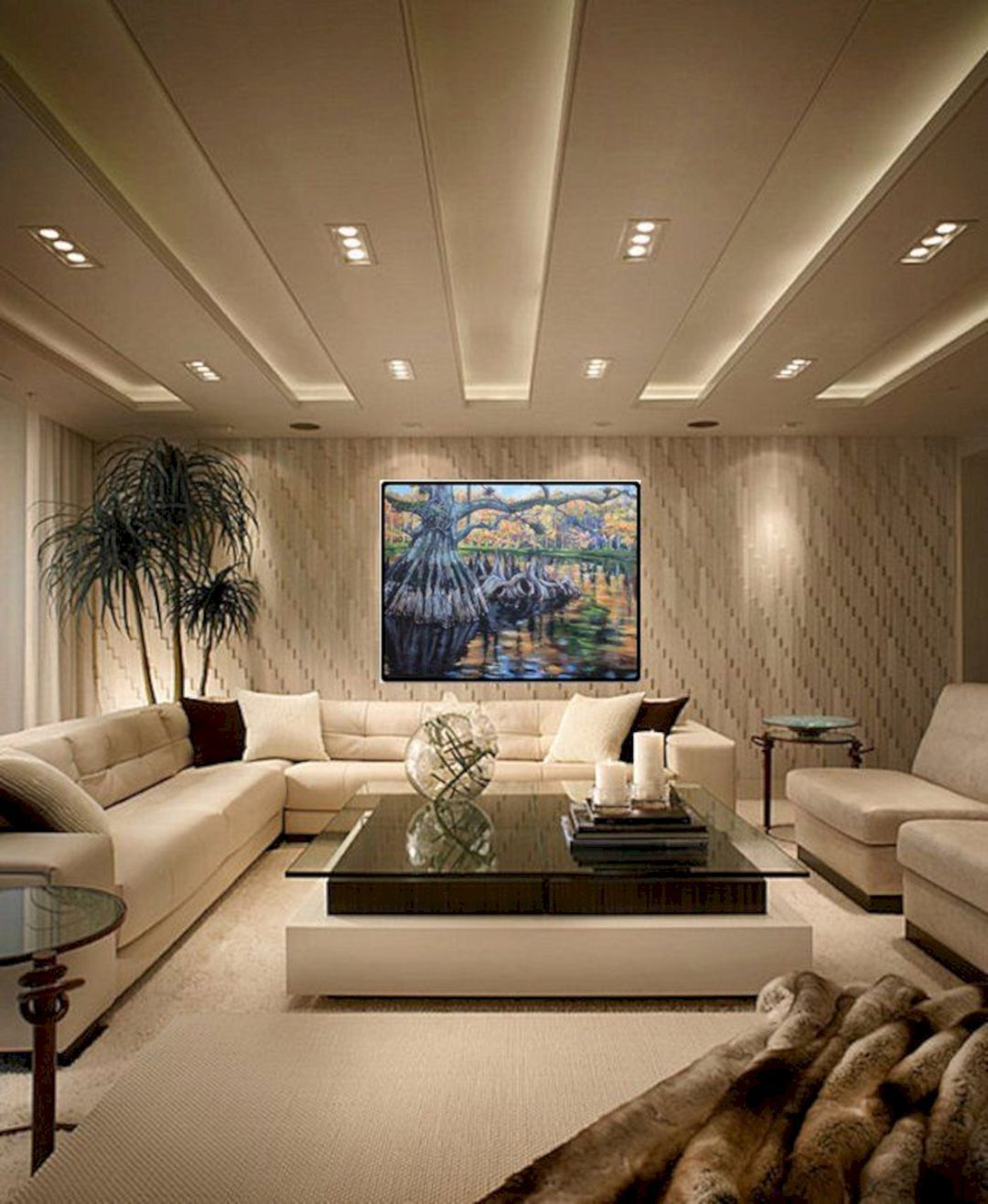 10 Luxury Lighting Design For Stunning Living Room Decoration