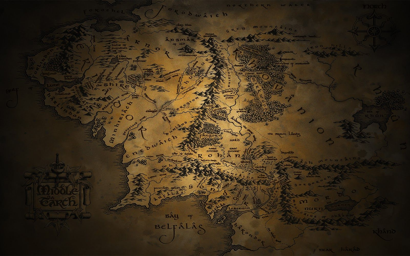 The Hobbit Wallpaper 1920x1080