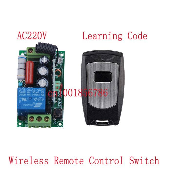 1ch Wireless Remote Control Switch System10a Learning Code Toggle Momentary Led On Off Wireless Switch With Waterpro Coding Remote Learning