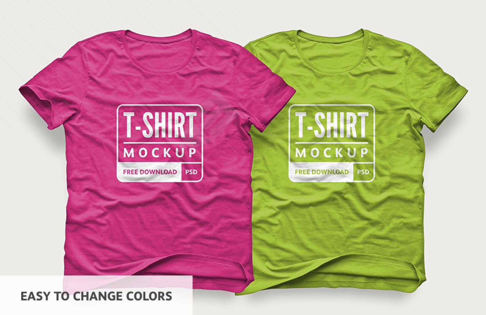 Easy To Change Colors Of T Shirt Mockup Freemockup Mockup