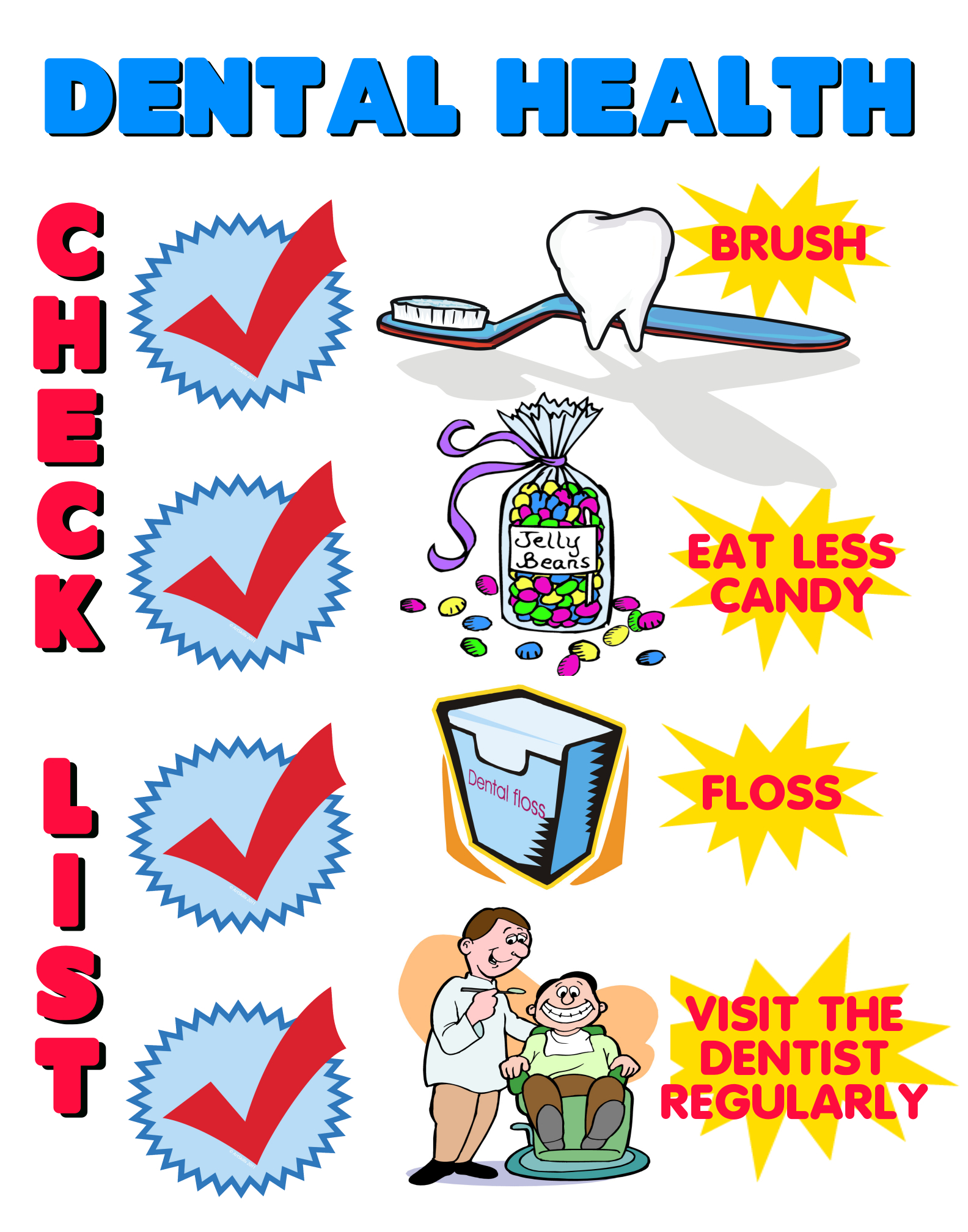 Dental Health Month Don T Forget To Brush Those Teeth