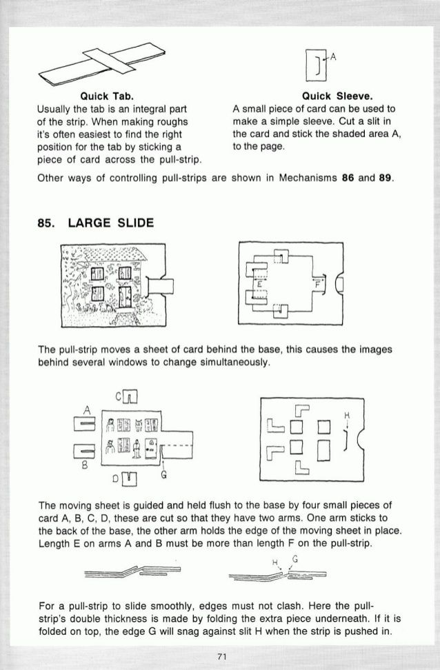 Pop up! a manual of paper mechanisms - duncan birmingham (tarquin - manual templates
