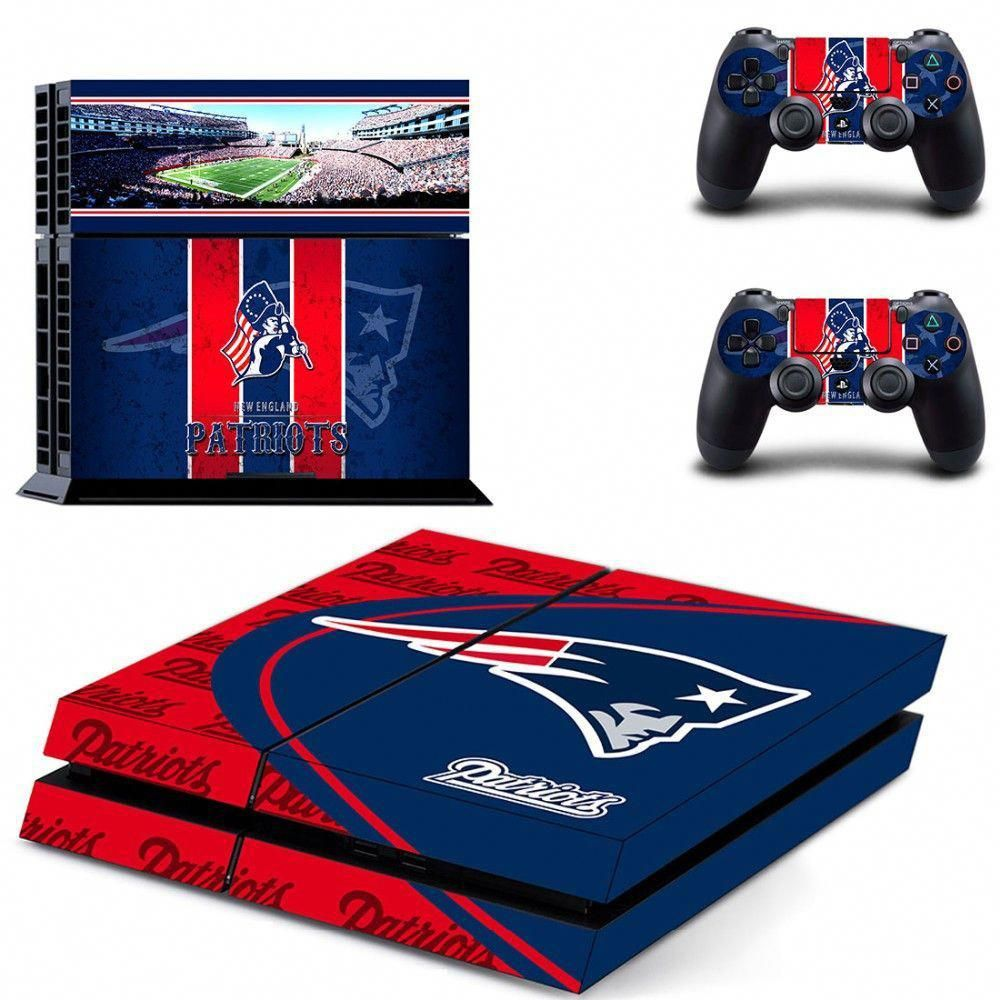 New England Patriots Nfl Ps4 Skin Playstationtips Ps4 Skins New Video Games Playstation 4 Console