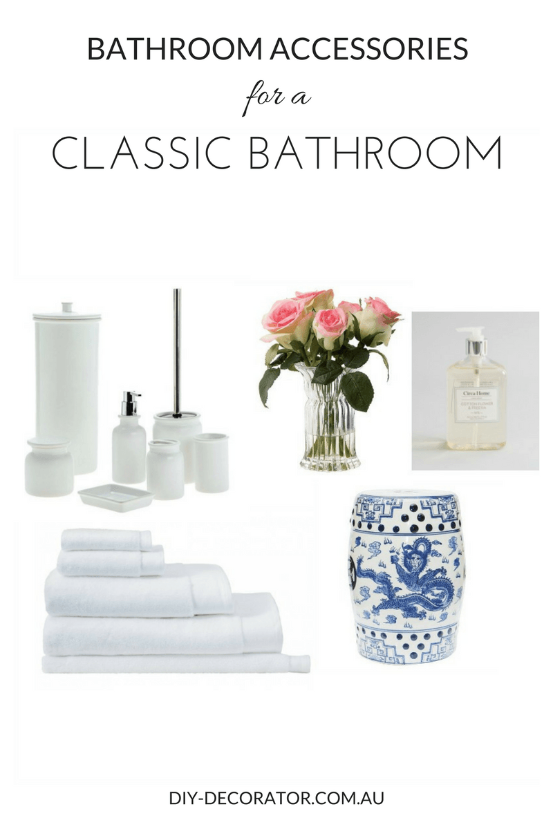 Bathroom Accessories for Classic Bathrooms | Feminine bathroom ...