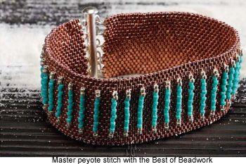 Peyote stitch bead weaving patterns   beadaholique.