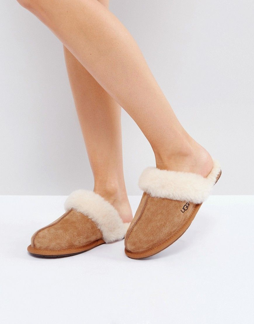 Ugg Scuffette Ii Chestnut Slippers Tan Shoes