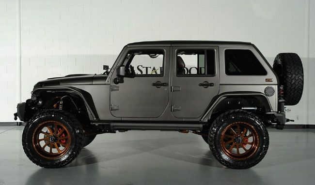 jeep wrangler unlimited nighthawk design von starwood. Black Bedroom Furniture Sets. Home Design Ideas